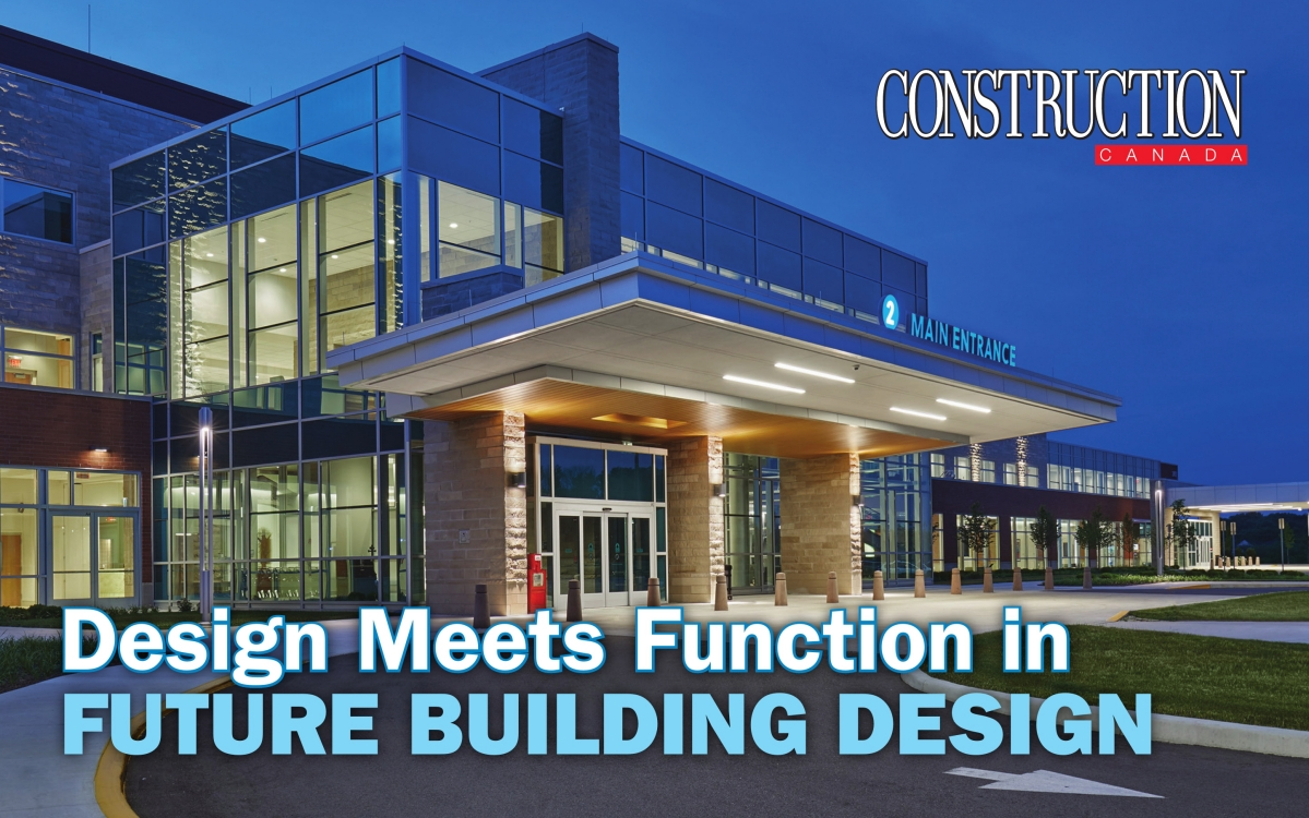 Design Meets Function in FUTURE BUILDING DESIGN