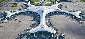Architects propose snowflake-shaped terminal for China