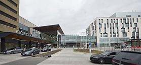Toronto hospital gets modern expansion