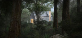 Québec's village of cabins offers a connection to nature