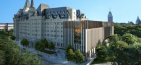 Despite opposition, Ottawa city council approves Château Laurier addition