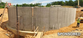 Xypex crystalline admix waterproofs concrete and self-heals cracks