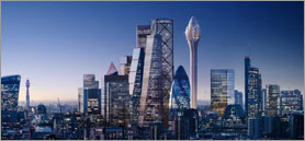 Tulip-shaped tower project axed by London mayor