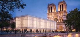 Gensler unveils design for a temporary pavilion at Notre Dame