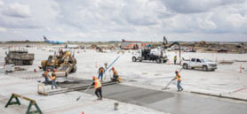 Reduced-carbon concrete amps up Calgary airport's green credentials