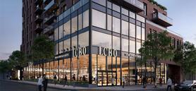 New LCBO glass façade creates high-street feel  for Toronto neighbourhood