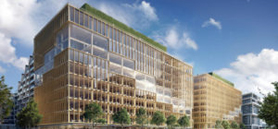 Ground breaks on tall wood tower in Toronto
