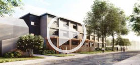 Montgomery Sisam uses modular construction to design supportive housing
