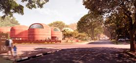 Adjaye Associates designs South African presidential library