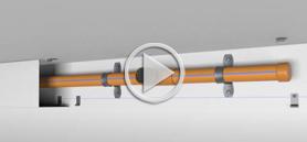 JG Innovations Soffi-Steel® | CPVC Sprinkler Pipe Cover