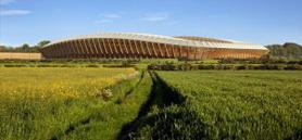 Zaha Hadid Architects to design world's first all-wood football stadium