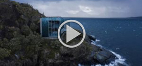 Arctic Salmon Center's façade design creates an illusion of fish scales