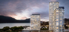 Three-tower development in Kelowna to feature tallest building in B.C.'s Interior