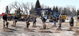 Ground breaks on Alberta Agri-food Hub and Trade Centre