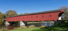Historic Ontario covered bridge receiving $6.25M for rehabilitation
