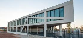 Amat & Saint-Val Architectes designs France office as simple geometric figure