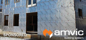 SilveRboard® Graphite XS by Amvic: A higher performing insulated exterior wall sheathing