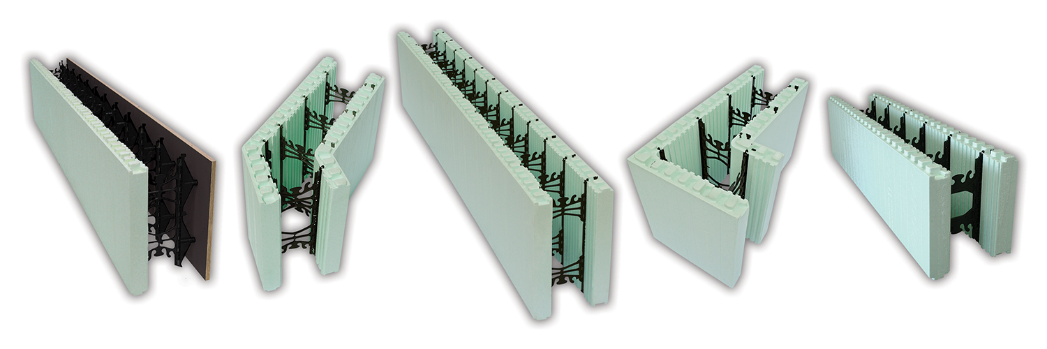 NUDURA Insulated Concrete Forms (ICFs)