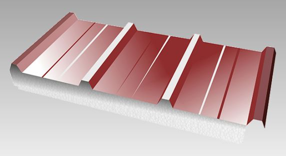 Single-component insulated metal panels for roofs and walls