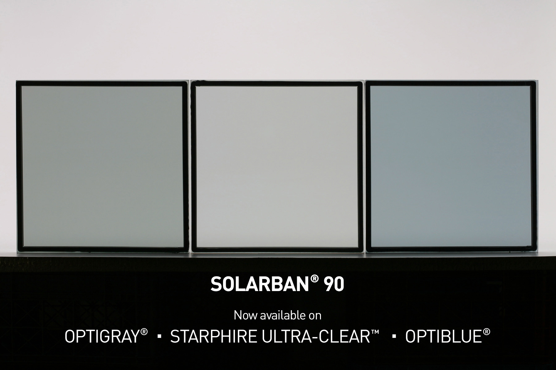 Solarban 90 low-e glass