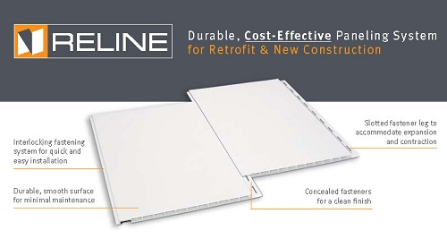 RELINE PVC Wall and Ceiling Panels