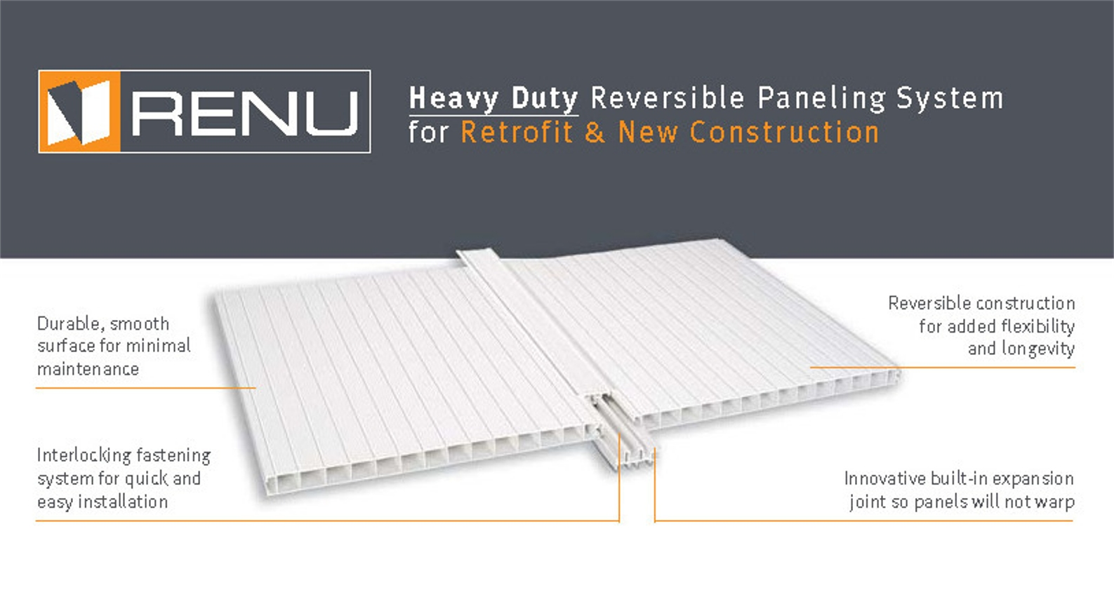 RENU Wall and Ceiling Panels