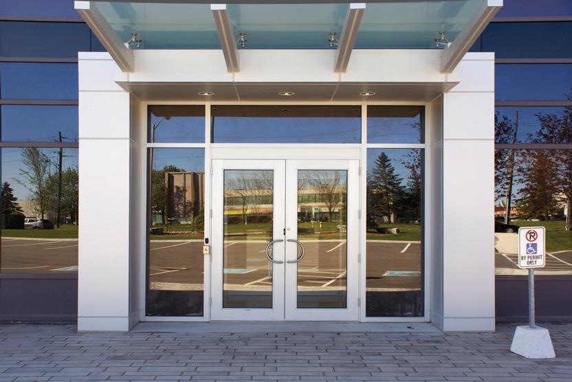 Commdoor High-performance Series 4000 Thermal Doors