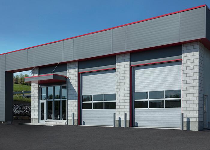 Garaga G-5000 Series Industrial Doors (Overhead Type, Polyurethane-injected)