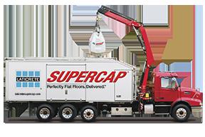 Laticrete Supercap SC500 Self-Leveling Underlayment Pump Truck System