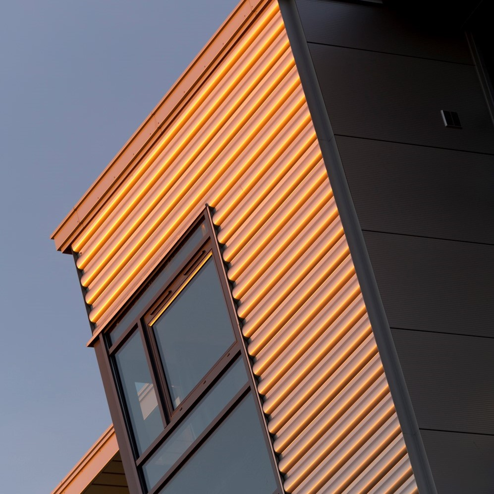ArcelorMittal Perspectra Metallics™ Prepainted Steel for Roofing and Siding