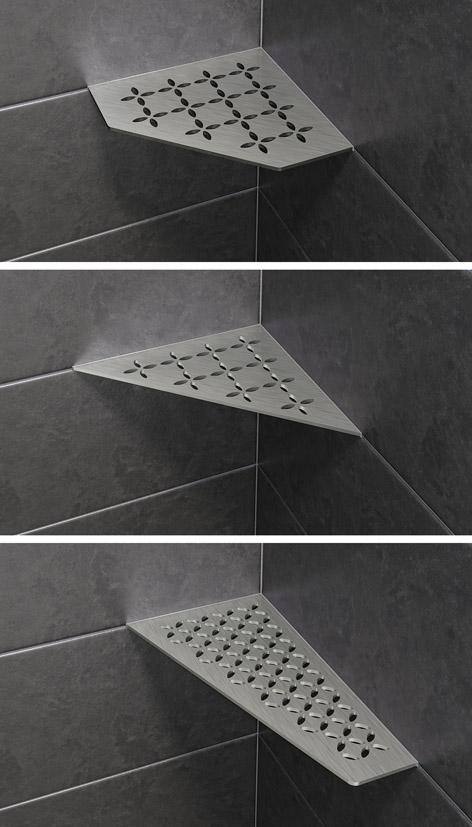 Schluter STYLE Shower Shelves