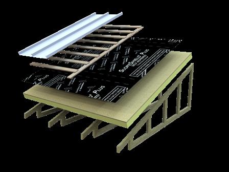 SlopeShield Plus Self-Adhered  Vapor Permeable Air Barrier Roof Underlayment           SlopeShield