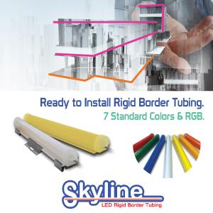 Rigid Border Tubing