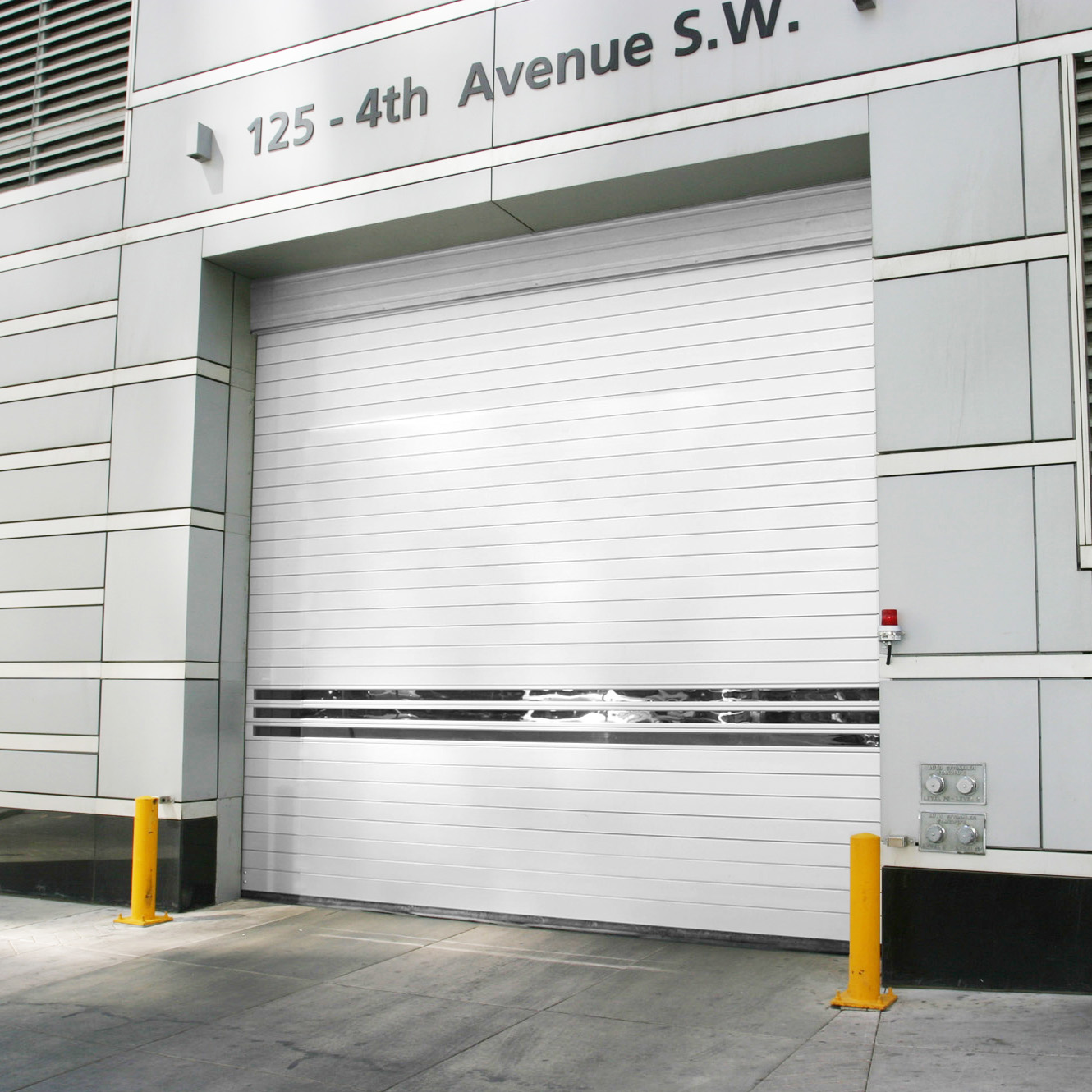 High Security, High Speed, Architecturally Stylish Spiral® Door