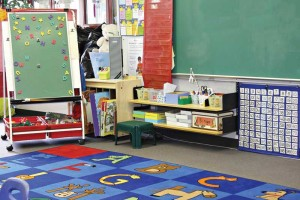 Some interior spaces, like this preschool, are likely to have occupants more sensitive to the risks that are associated with indoor air contaminants. Designers should take steps to ensure a safer project. Photo © BigStockPhoto/Barbara Helgason