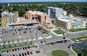 Sarnia's Bluewater Health community hospital was certified Leadership in Energy and Environmental Design (LEED) New Construction (NC), making it the first facility of its kind in Ontario with the accreditation.
