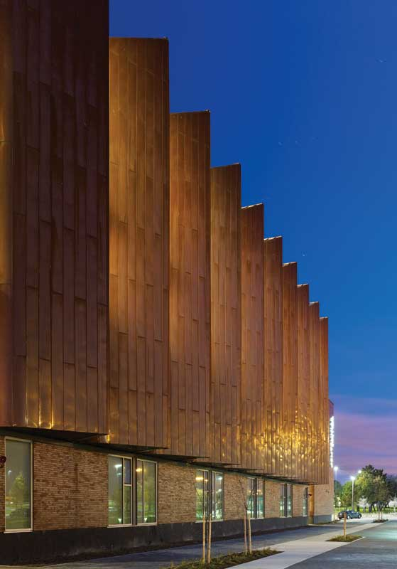 Design Integrating Copper Cladding Construction Canada