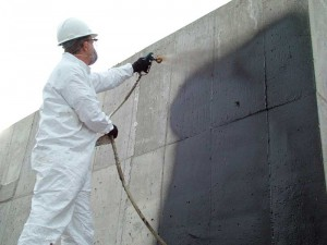 This fluid-applied membrane is ideal for providing a monolithic waterproofing membrane.