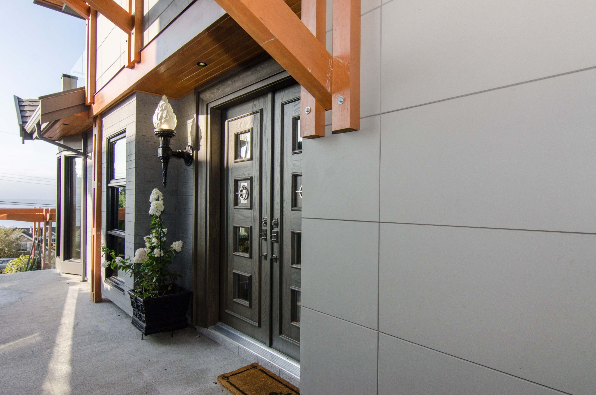 Specifying Fibre Cement For A High End Home Construction