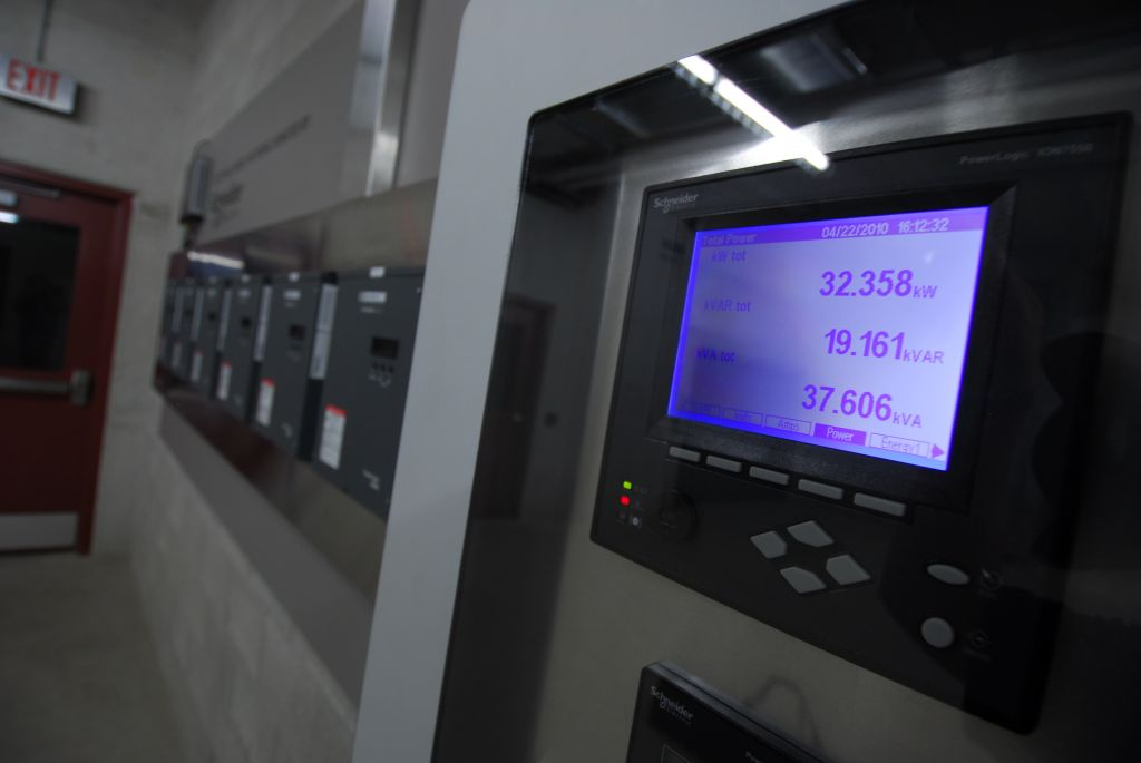 New energy modelling technology was introduced to the facility and allows staff to monitor more than 300 electric, thermal, and water usage points. Photo courtesy Schneider Electric