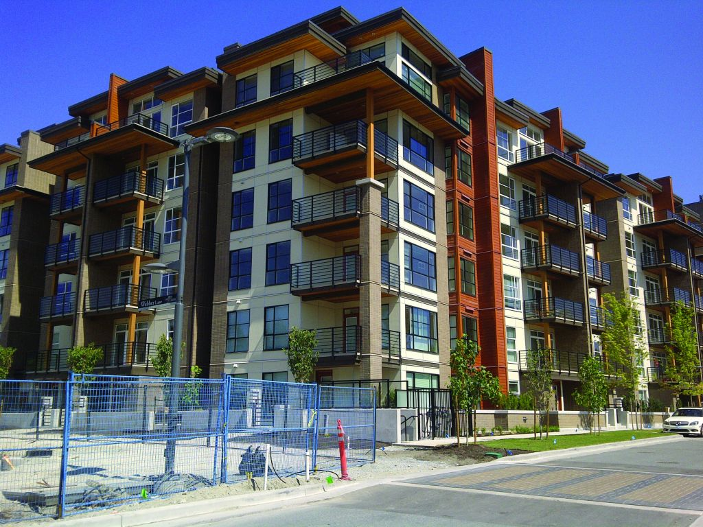 The Sail project in Vancouver is an example of a successful mid-rise wood building. Photo courtesy WoodWORKS! B.C.