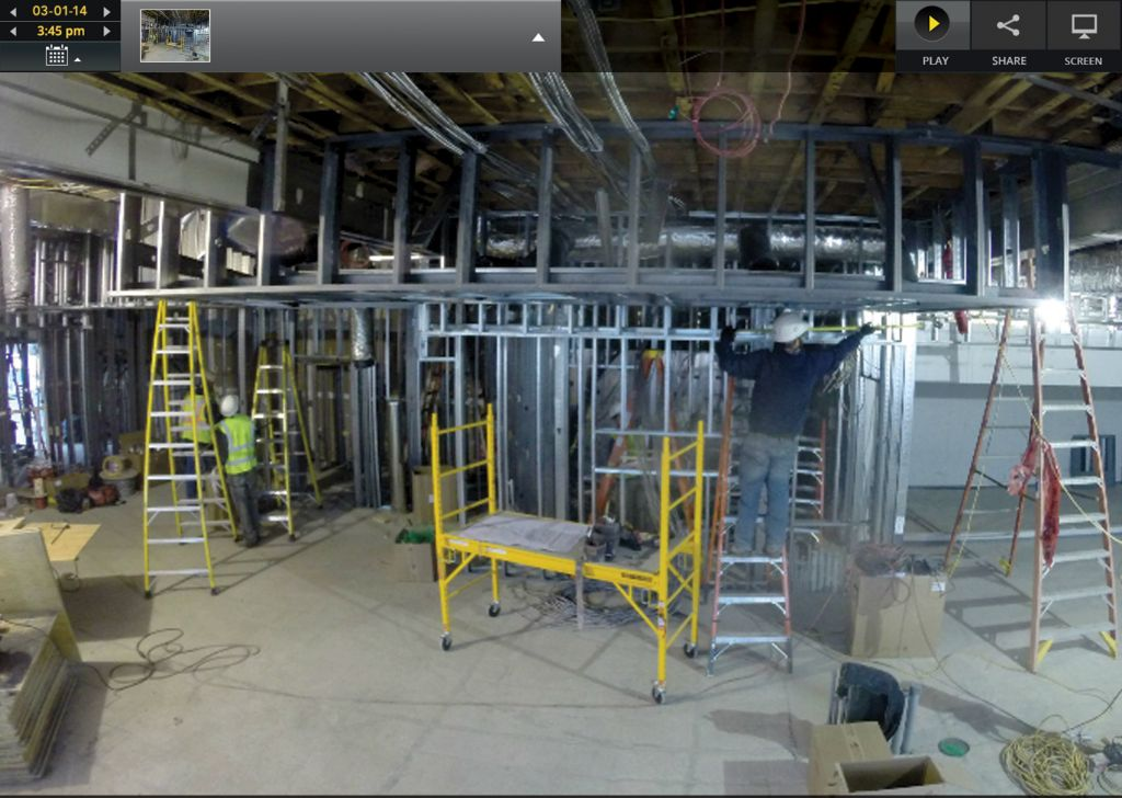 Users can retrieve archived images or view up-to-date time-lapse movies of an entire project, and cellular-based time-lapse service provides seamless data delivery.