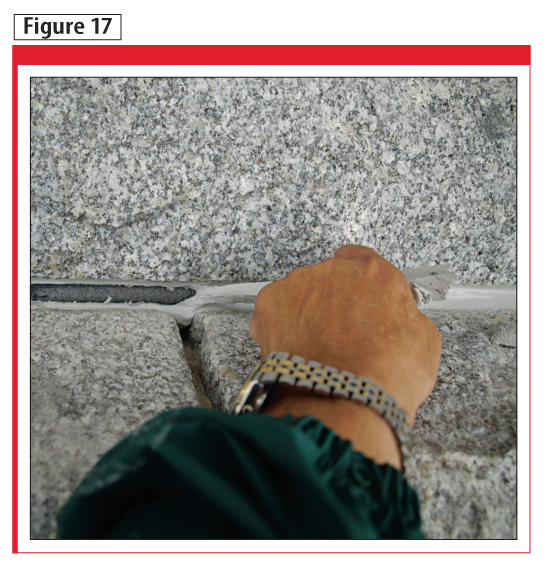 Trials confi rmed adequate adhesion could be achieved using a primer prior to installation of the joint sealant.