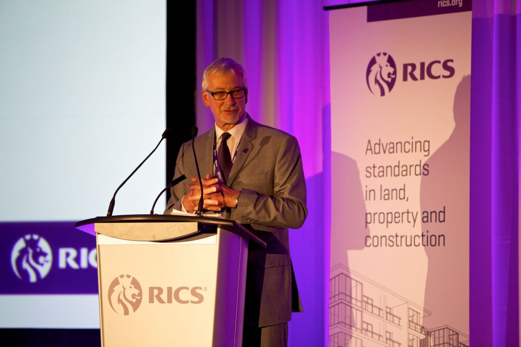 John Hughes, Royal Institute of Chartered Surveyors (RICS) Chair, spoke at one of the opening sessions at this week's Summit of the Americas. John Hughes, Royal Institute of Chartered Surveyors (RICS) Chair, spoke at one of the opening sessions at this week's Summit of the Americas.