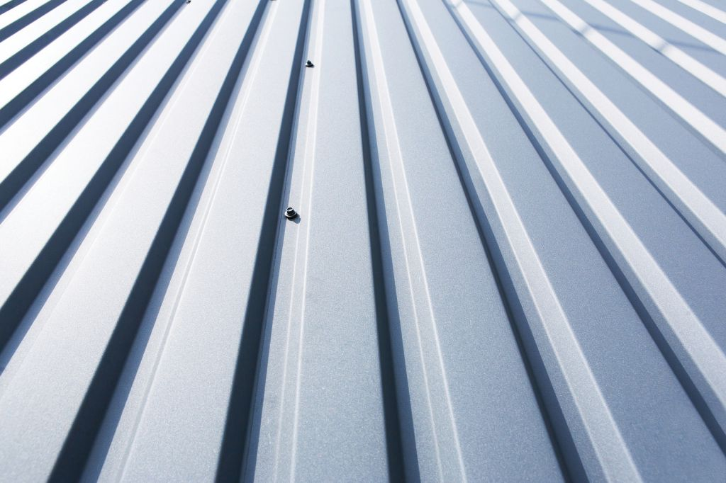 An example of roll-formed, hot-dip coated panels for striking architectural effec Photo © BigStockPhoto/razy photo