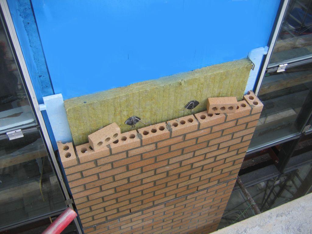 Thermal Bridging At Brick Ties Construction Canada