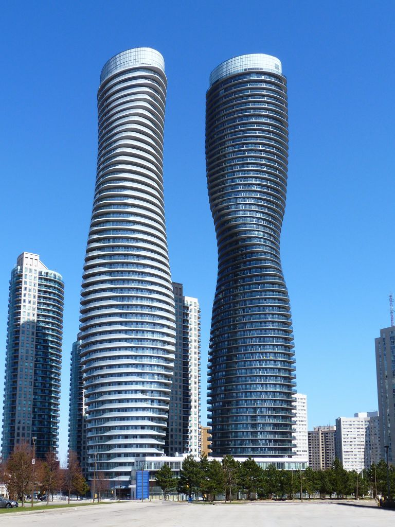 Absolute world towers earns international skyscraper for Architecture firms mississauga