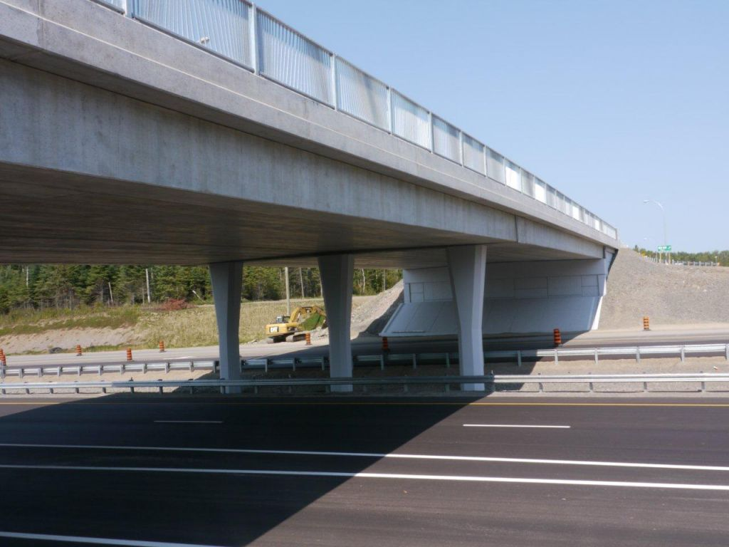 The Holder Avenue Underpass in Thunder Bay was awarded at the 2013 Precast/Prestressed Concrete Institute (PCI) Design Awards. Building and transportation structure project entries employing the material are now being accepted for this year's program. Photo courtesy LaFarge