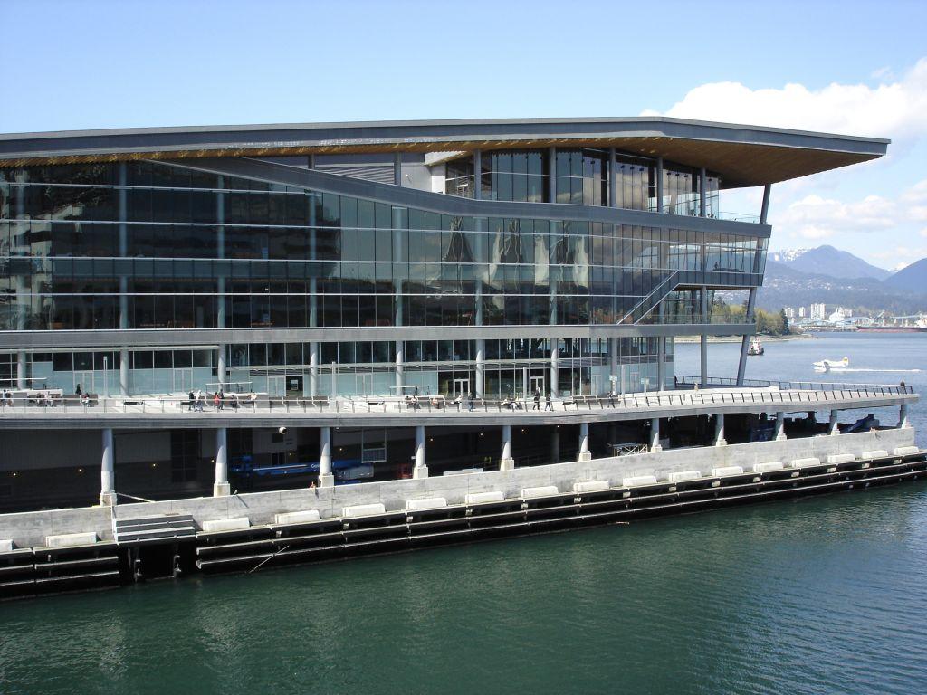 2010 Vancouver Convention Centre exterior