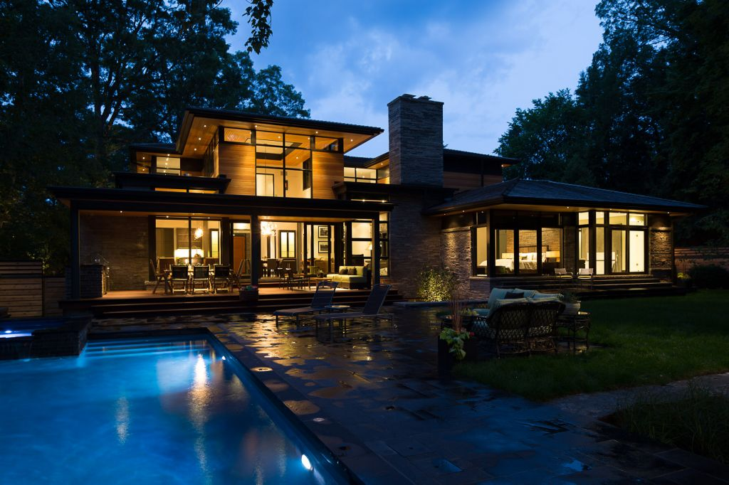 7. The Home - Read Exterior (Night)